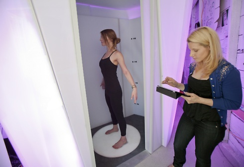 Bodymetrics body scanning cabin created to help women find jeans that fit